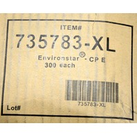 Epic 735783-XL Shoe Cover. Antistat PE W/PE Conductive Strip 300 per case.