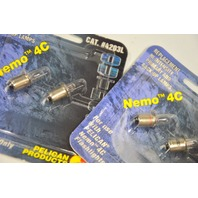 Pelican #4203L Replacement Hi-Intensity Light for use with Nemo 8C  only. - 2/2 packs.
