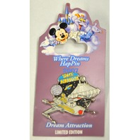 Disney Dreams HapPin 2007 LE750, Space Mountain with R2-D2 & C3PO - #38