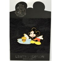 Disney Store LE250 - Jumbo Hanukkah MIckey Mouse Pin - Spinning Dreidel-515925