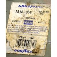 Good Year 2B14-354 - REPL B/F P/N 7145 Air Spring -  Old shelf stock