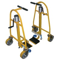 Hand Operated Mechanical Furniture & Equipment Moving Dolly 1300 Lb. Capacity.