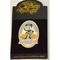 Minnie Mouse Vintage Pin Minnie Airlines LE #00186