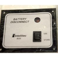 Intellitec RV Battery Disconnect Panel Switch #01-00066-004
