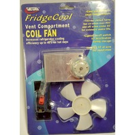 Valterra RV Fridge Cool Vent compartment Coil Fan #A10-2710VP