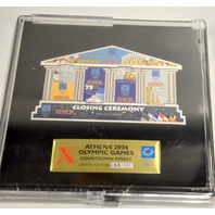 Athens 2004 Olympic Games Countdown Pinset-Closing Ceremony LE153/550