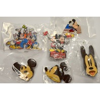 6 Mickey Mouse Pins Collectables -  All Mickey Mouse #45