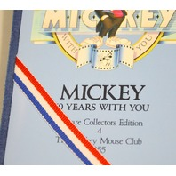 Disneys Mickey Mouse Club,60 Years Silver Coin - Mint-99.9%Silver -#024381