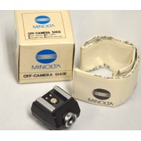 Minolta Off-Camera Shoe #8808-110 - NIB