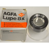 AGFA Lupe 8X magnification