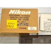 Nikon FE2 Focusing Screen E2