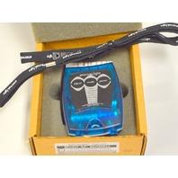 eternaLight Flashlight  Model 4ZBlue Case -White LED's-Have On/Off, Flasher, Strobe +