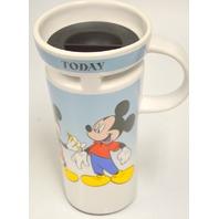 Disney Vintage Travel Ceramic Coffee Mug 1925 - 1935 to MIckey Today #1928