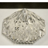 Waterford Crystal LE Disney 75 Years of Love and Laughter Paperweight. #10622