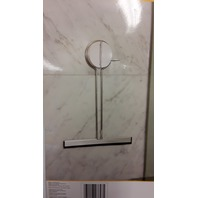 GRiiPA #3847 Shower Squeegee with Friction Mount - Chrome Finish