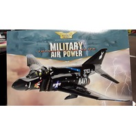 Corgi McDonnell F-4J Phantom, VX-4 SQN, U.S. Navy 'Black Bunny' 1:72 Scale