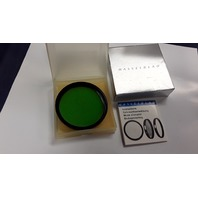 Hasselblad 60 Green Filter #51592 - 3x G -1.5  (11) Multicoated, For front lens mount.