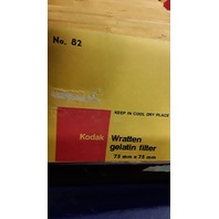Wratten Gelatin Filters - 54 Pc. 75mm x 75mm and 4 Pc. 100mm x 100mm