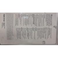 Tektite Trek 4 Aluminum LTD Idition #3A-4400-4 Wide Angle.