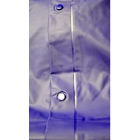 1 - Hooded Poncho - PVC Sideline Cape -  Color Purple, No Sleeves