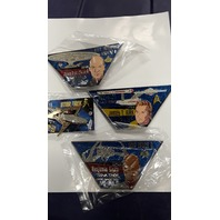 Star Trek Collectible Pins 4 pcs - Picard, Kirk, Sisko and Enterprise. #00