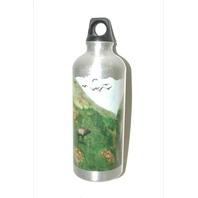 Aluminum Water Bottle-.5 Liters - New-Wildlife Design