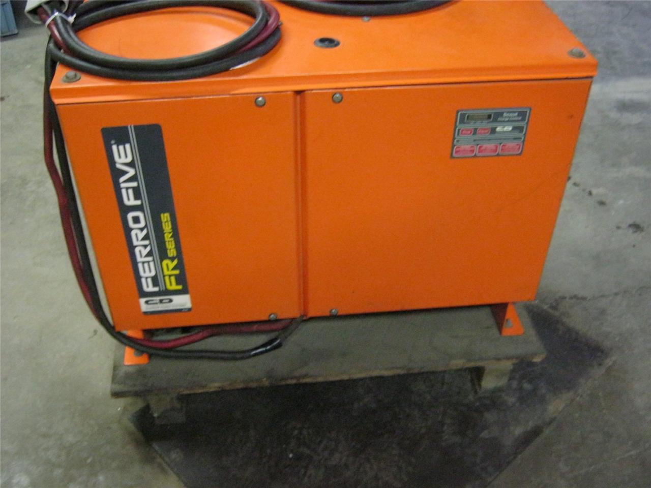 C D Ferro Five FR Series    Forklift       Battery    Charger    36       Volt