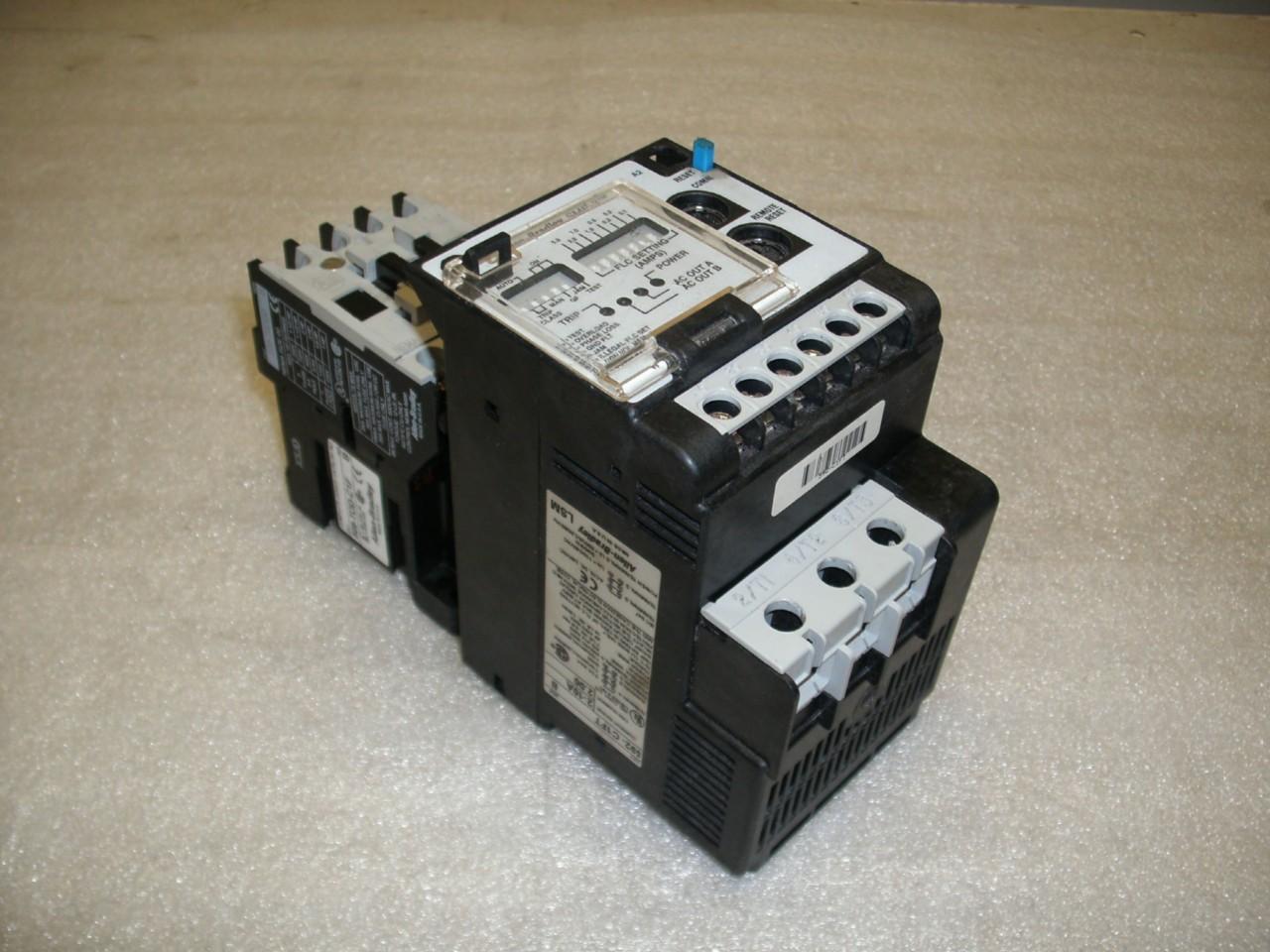 Allen Bradley Smp 3 Motor Controller 509 Tod C1f Ser B