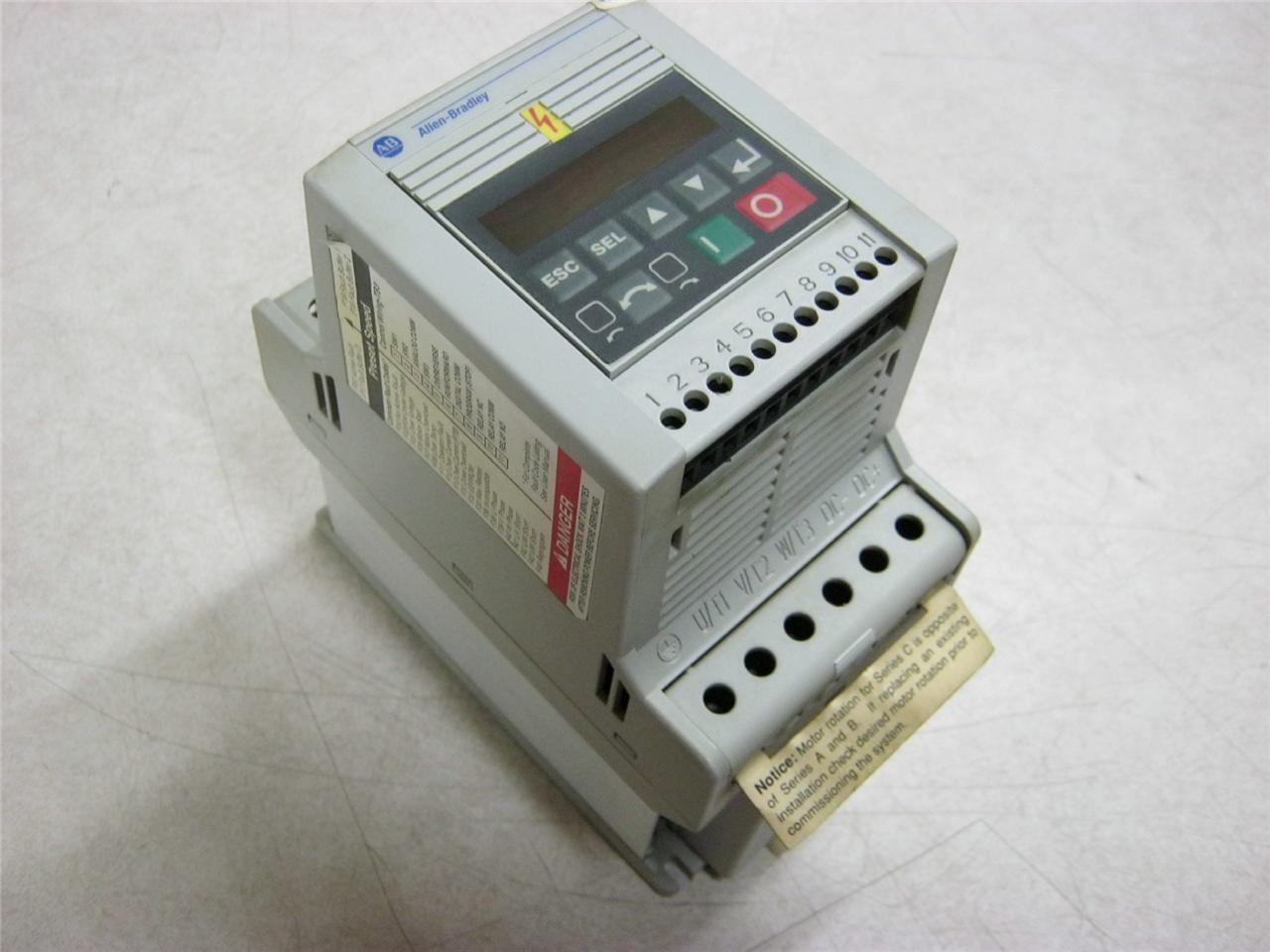 Allen Bradley 160-BA03NPS1P1 Series C Speed Controller 380 - 460 Volt 3  Phase | Daves Industrial Surplus LLC