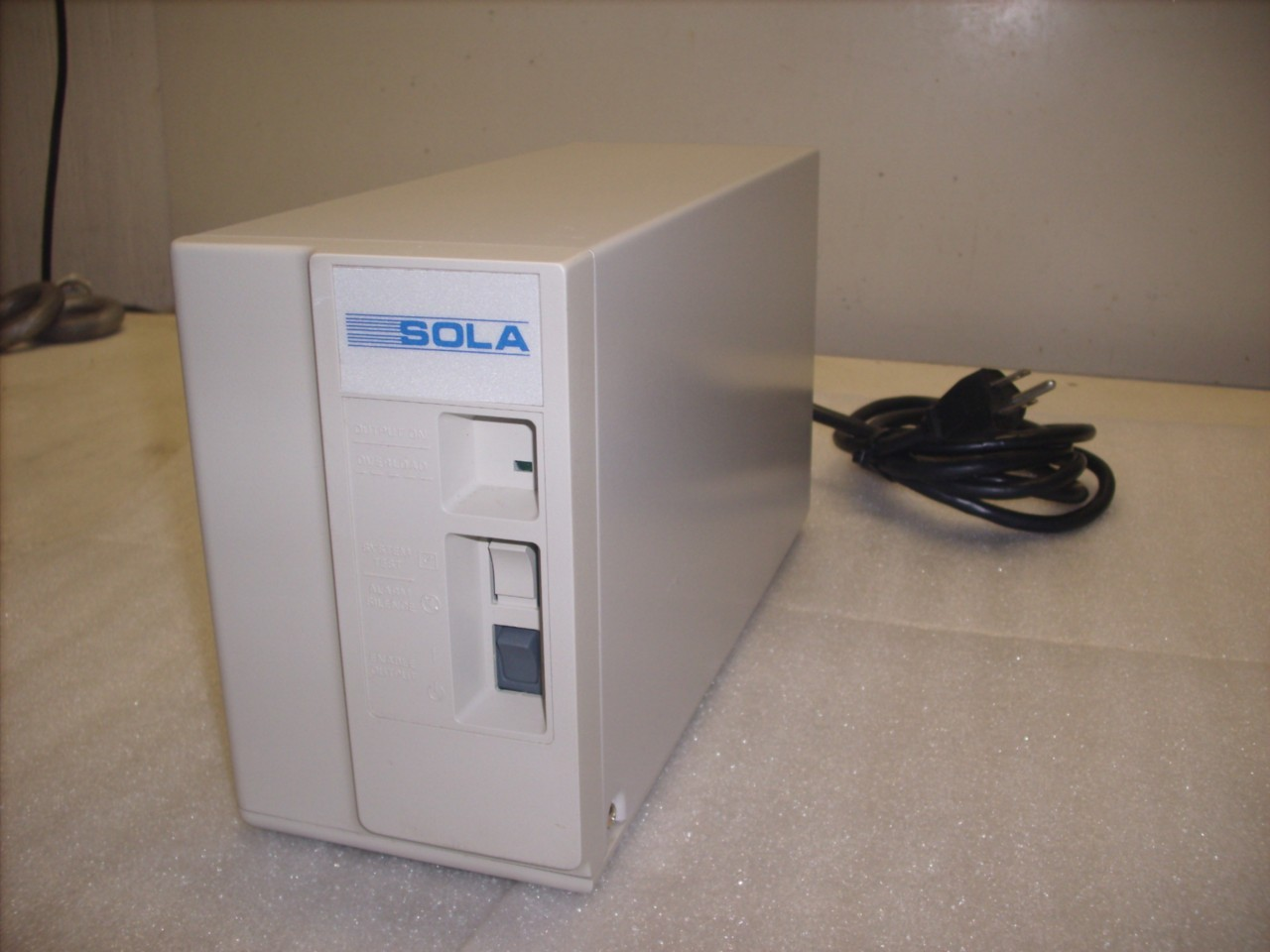 SOLA UPS 400 VA - Uninterruptible Power Supply Cat# 30-400 ***Price  Reduced***   Daves Industrial Surplus LLC