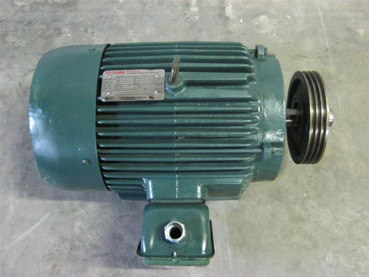 Toshiba epact 15 hp high efficiency motor model High efficiency motors