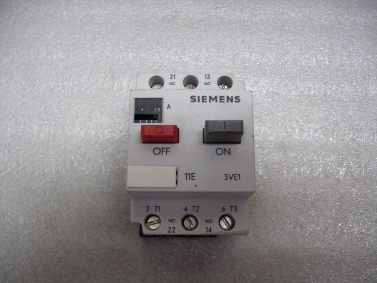 siemens manual motor starter 3ve1010 2k ebay
