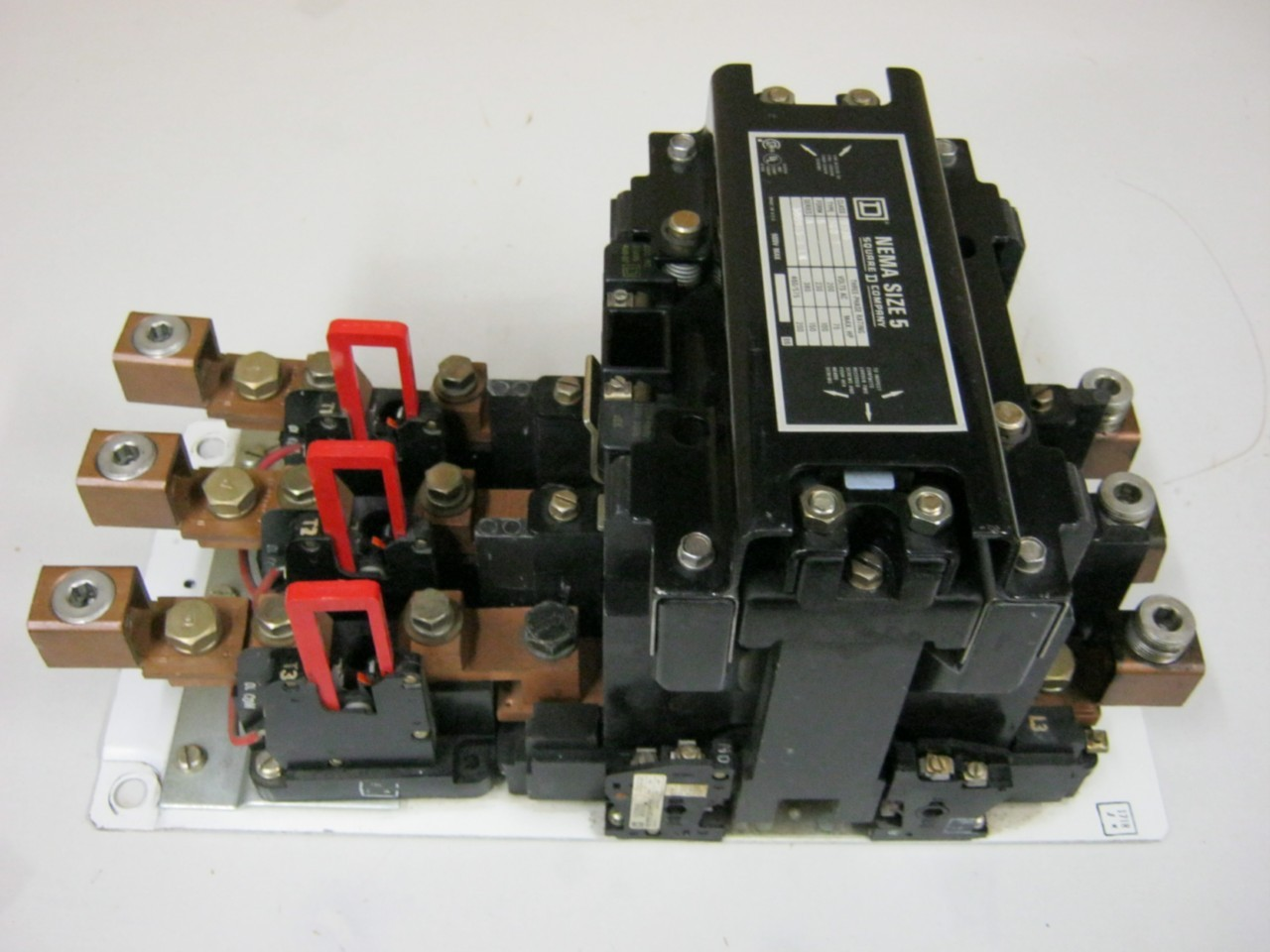 Square D Size 5 Motor Starter Class 8536 Type Sgo 1 Form S