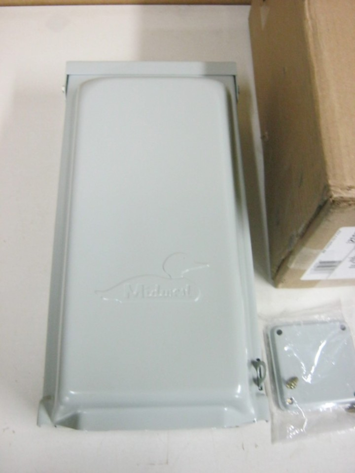 Amp U011gwtr Rainproof Power Outlet 120 240 Vac 1 Phase 3 Wire Ebay