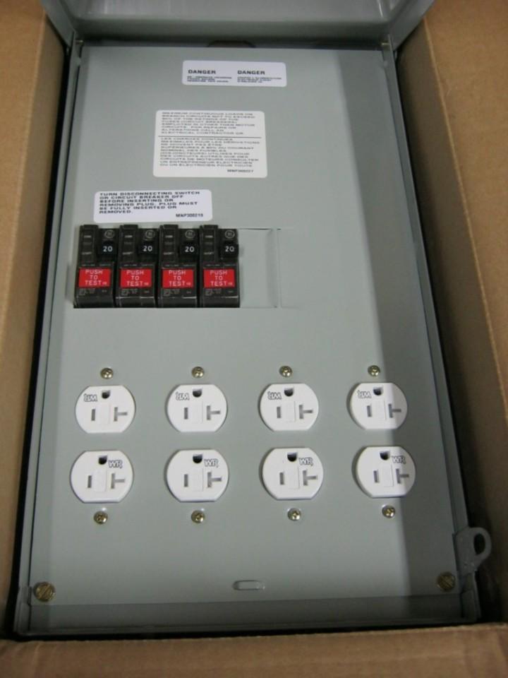 midwest u014gwtr 100 amp rainproof power outlet 120/240 ... 240 single phase wiring diagram l1 l2 l3 #11