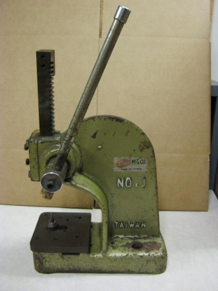 Enco Tabletop Arbor Press Model 1 Ebay