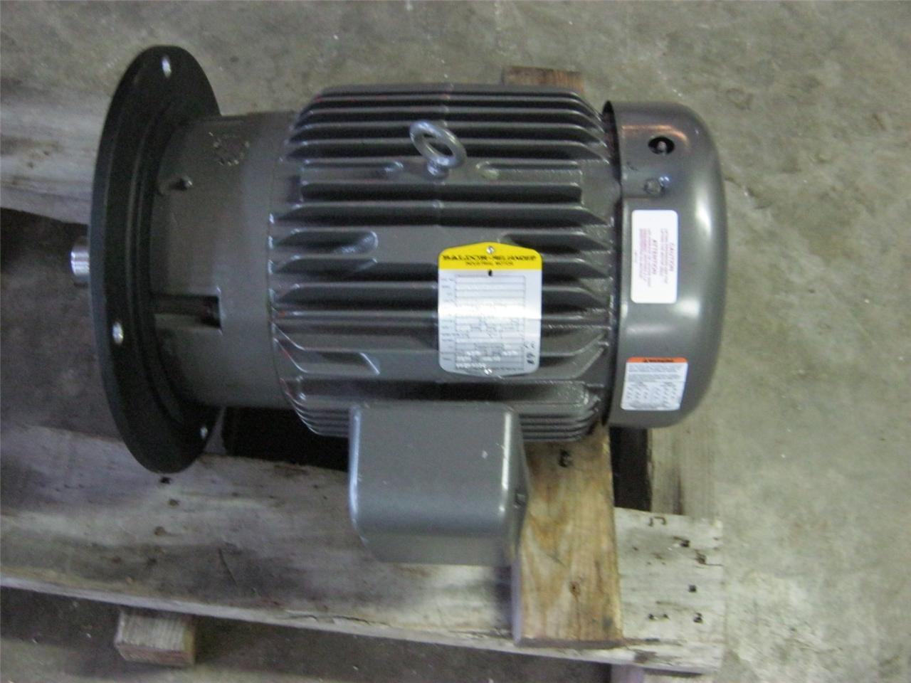 Baldor 15hp 3500rpm motor new ebay for Baldor industrial motor parts