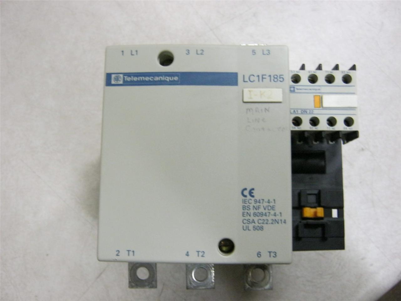 Telemecanique lc1f185 motor starter 50 150 hp daves industrial surplus llc Telemecanique motor starter