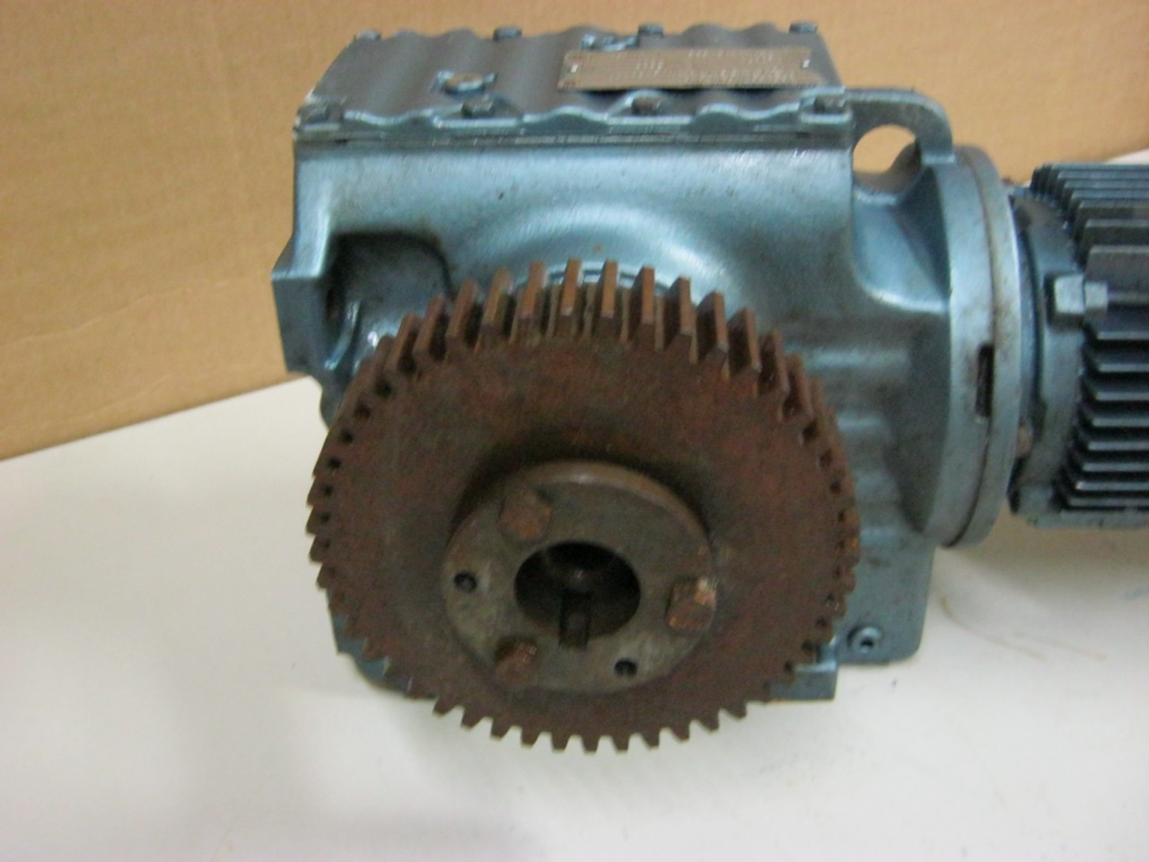 Sew eurodrive 1 hp electric motor reduction gear daves for Gearbox for electric motor