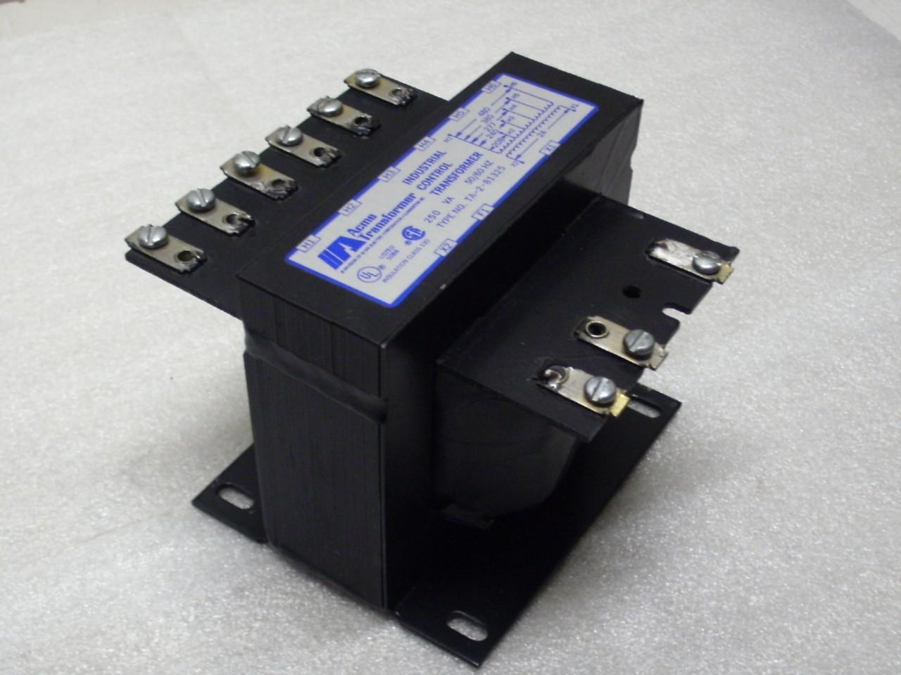 Acme 250 Va Industrial Control Transformer