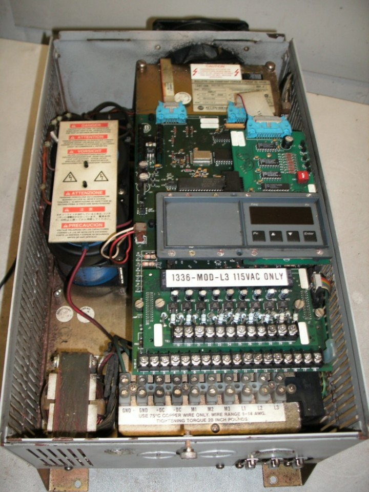 Allen Bradley 1336 B003 Ead S1 Variable Frequency Drive