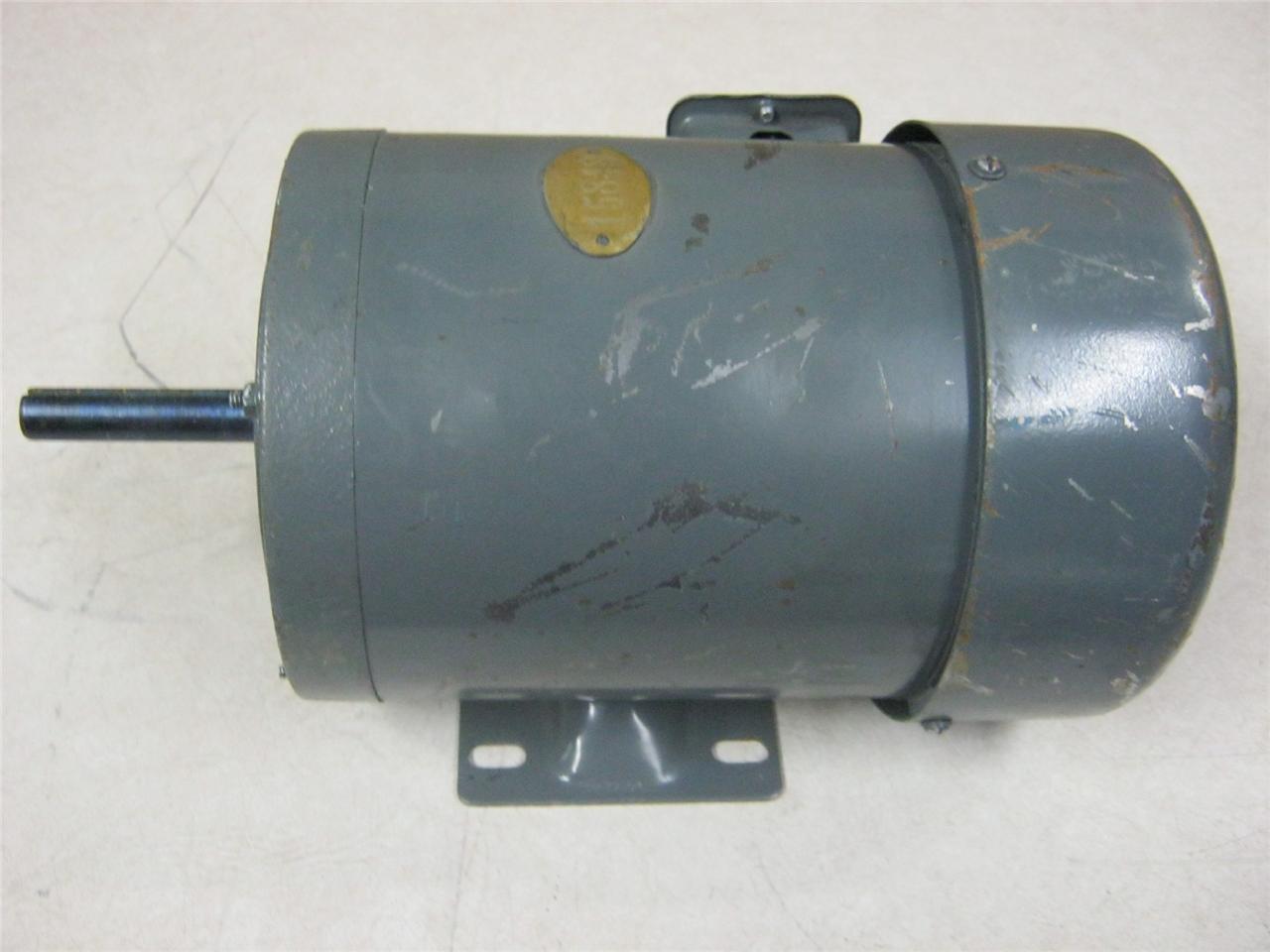 ge induction motor wiring diagram induction motor 1 hp 220/440 volt 60 hz 1720 rpm | ebay