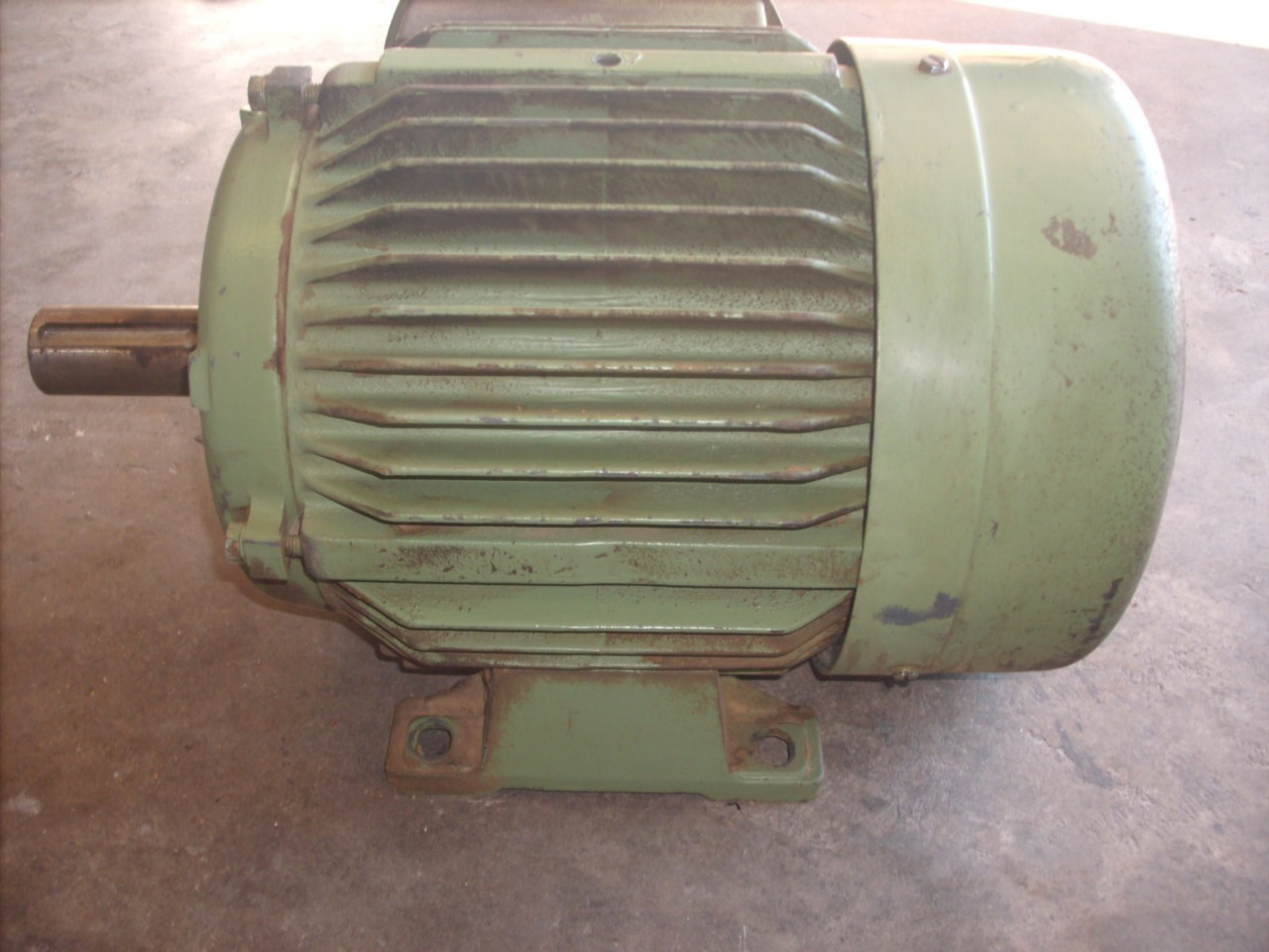 Bauknecht 10hp 3 phase electric ac motor for 10 hp ac electric motor