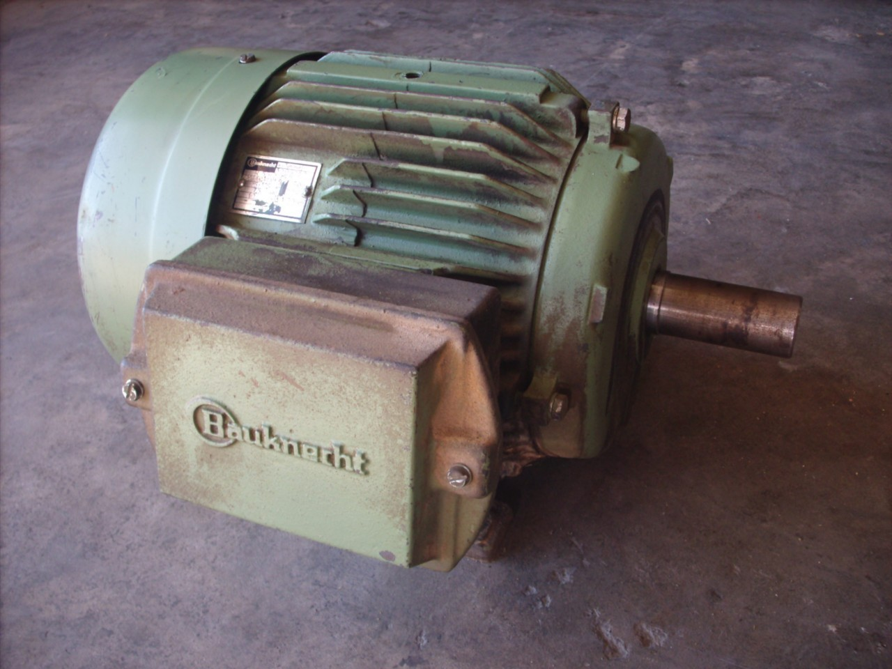 Bauknecht 10hp 3 Phase Electric Ac Motor