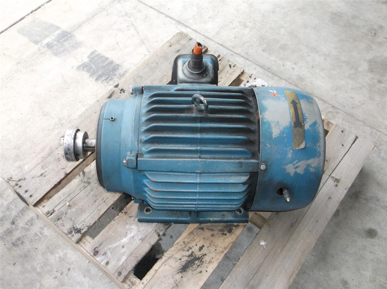 Us Electrical Motors 10 Hp 3 Ph Type Jad Daves