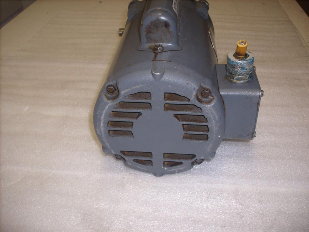 Boston Gear Rt Angle Gearbox Ratio 25 1 W Baldor Motor