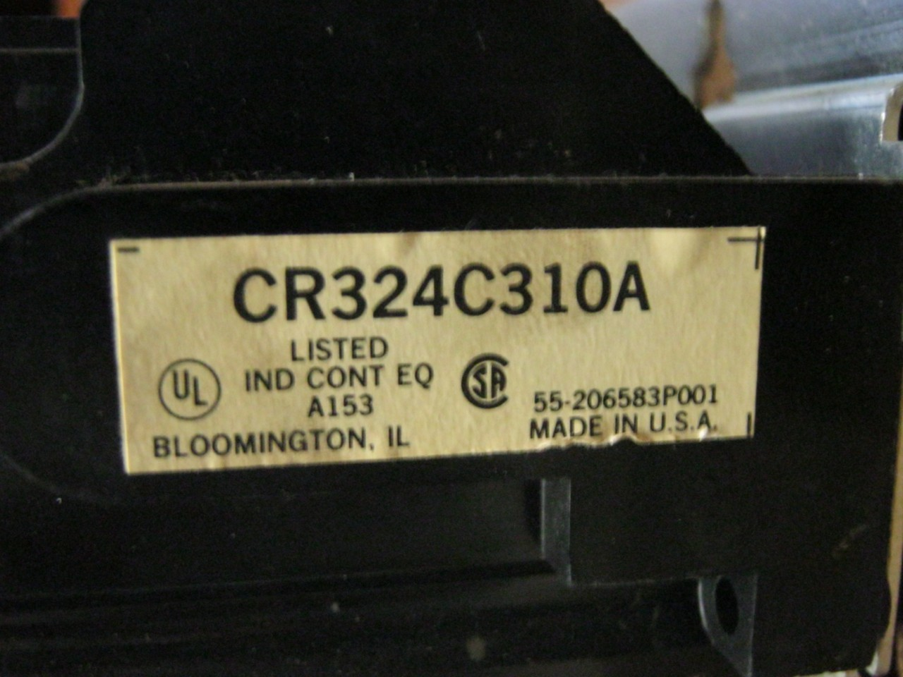 General Electric Overload Relay CRCA EBay - Working principle of overload relay