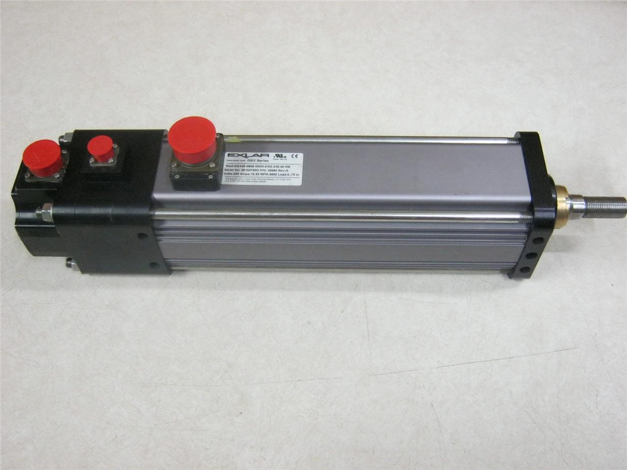 Exlar gsx series linear actuator gsx40 0808 mdm em2 238 40 for Servo motor linear actuator