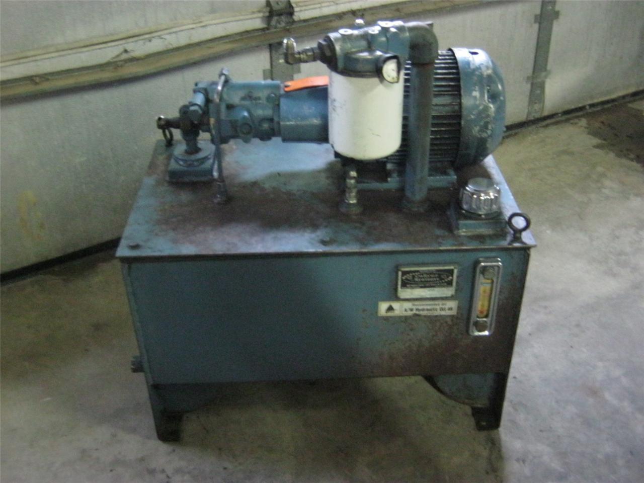 Lincoln 3HP 182TC Hydraulic Package PVB5 RSY 21 C 11 Vickers Hydraulic Pump