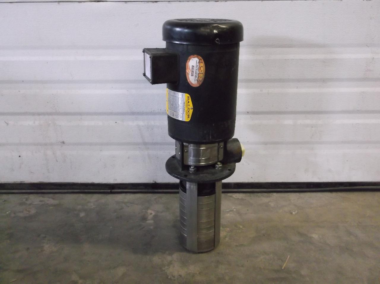 Grundfos crk2 60 verticle high presure pump baldor 1 5 hp Baldor industrial motor pump